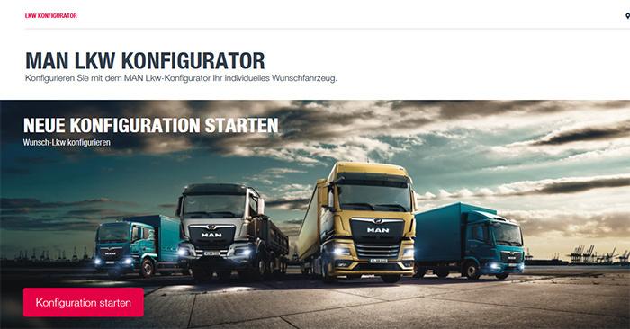 MAN Truck Deutschland und CAS Configurator Merlin